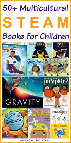 Multicultural STEAM Books for Children, Ages 0 to 13