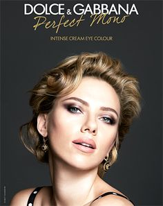 ScarJo's living the Dolce vida! As Dolce & Gabbana brand ambassador, Scarlett Johansson smolders for the new campaign for the Perfect Mono Intense Cream Eye Color. Check out the behind-the-scenes video!