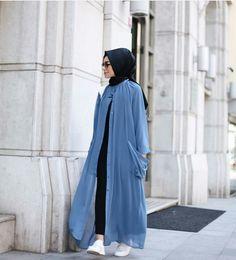 Discover thousands of images about Hijab look, formal, hari raya Islamic Fashion, Muslim Fashion, Modest Fashion, Girl Fashion, 2000s Fashion, Muslim Dress, Hijab Dress, Hijab Outfit, Modele Hijab