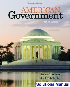 Analysis for financial management 11th edition solutions manual by american government brief version 11th edition wilson solutions manual test bank solutions manual fandeluxe Gallery