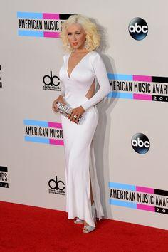 Fashion At The 2013 American Music Awards...christina looks beautiful