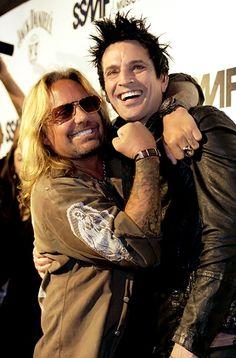 Vince & Tommy of Motley Crue #RIPMotleyCrue