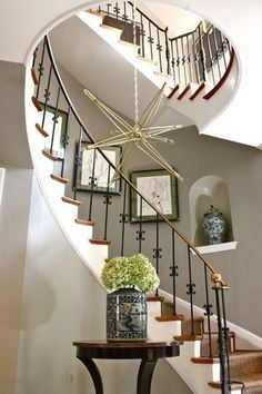 Curved Stairs Design   Curved staircase #stairway #homestairy