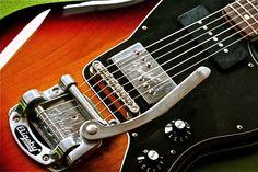 Here is 'Molly' : Fender Jazzmaster Blacktop upgraded w/bigsby from 2011.  cfg : Lollar Jazzmaster neck + Fender Wide Range