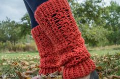Slouchy Lady Leg Warmers  PDF Pattern by MaBsBoutique on Etsy