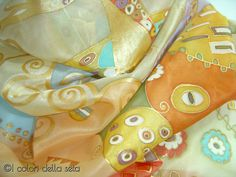 Klimt Scarf by AdeleDaniele on Etsy