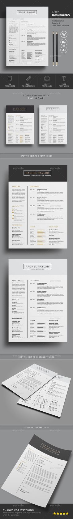 #Resume - Resumes Stationery Download here:  https://graphicriver.net/item/resume/20201049?ref=alena994