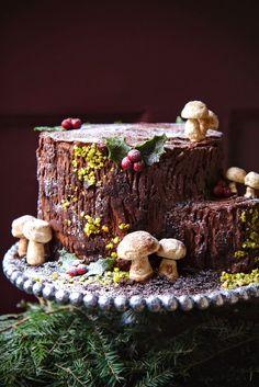 A stump de Noël.