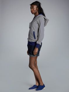 Hooded Sweatshirts, Button Up, High Neck Dress, Clothes, Dresses, Women, Fashion, Turtleneck Dress, Outfits