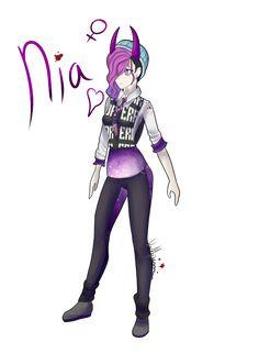 Nia! New Character by Vampirizian on DeviantArt