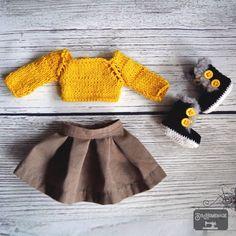 @sishomemd #crochet & #knitt #doll #clothes Doll Clothes, Winter Hats, Dolls, Crochet, Fashion, Baby Dolls, Moda, Fashion Styles, Puppet
