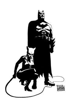 Batman and Catwoman by Eduardo Risso
