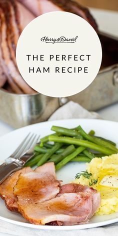 Cooking the perfect ham doesn't have to be as complex as it sounds. Follow these three simple tips to create a holiday dinner that'll be a hit with your friends and family! Ham Recipes, Dinner Recipes, Spiral Cut Ham, Roasted Ham, How To Cook Ham, Cooking Temperatures, Baked Ham, Easy Entertaining, Glaze Recipe