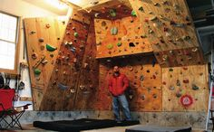 Building a Home Bouldering Wall is not an inexpensive thing to do, however the benefits it brings you usually outlast any monetary investment. Below is the simple math of an initial climbing wall and its expenses.