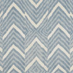 Rimba Ikat - Lagoon - Ethnic - Fabric - Products - Ralph Lauren Home - RalphLaurenHome.com