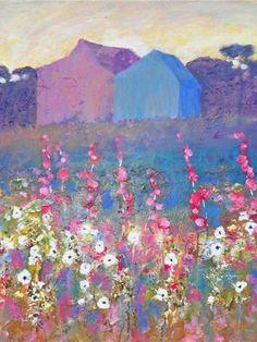 ❀ Blooming Brushwork ❀ - garden and still life flower paintings - Kip Decker