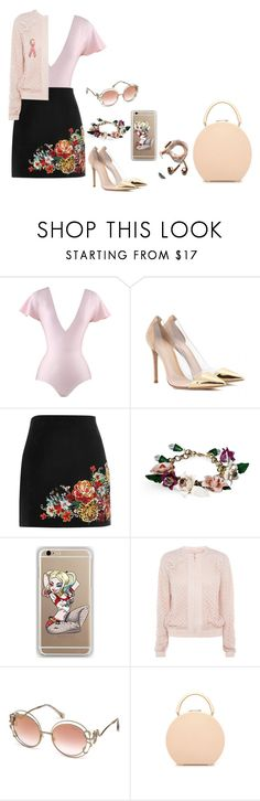 """""""First day on Spain."""" by mprocedi ❤ liked on Polyvore featuring Love Boo, Gianvito Rossi, River Island, Dolce&Gabbana, Samsung, Happy Plugs, Roberto Cavalli, M2Malletier and Bling Jewelry"""