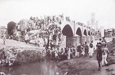 Musi river floods in 1908 on Sep 28 Rare Photos, Old Photos, Vintage Vignettes, History Of India, Vintage India, Lost City, Antique Photos, Hyderabad, Once Upon A Time