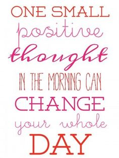 Think positive thoughts! Motivational Quotes For Life, Work Quotes, Daily Quotes, Quotes To Live By, Life Quotes, Inspirational Quotes, Office Quotes, Smart Quotes, Wisdom Quotes