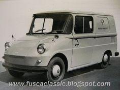 VW Fridolin Prototyp. Wurde extra für die Post als Zustellfahrzeug gebaut.
