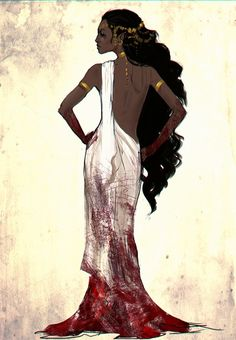 pxelslayer:They forced her to wear white. She disagreed and made it red.Ok, no more OCing, back to studies, you lazy s`wit! Black Girl Art, Black Women Art, Black Art, Art Girl, Fantasy Inspiration, Character Design Inspiration, Story Inspiration, African American Art, African Art