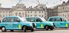 free in taxis courtesy of EE from today EE is offering taxi passengers in London and Birmingham the chance to experience the UK's only network via Wi-Fi for free. Taxi Advertising, Horse Guards Parade, New London, London Style, City Streets, Birmingham, Taj Mahal, Transportation, Public