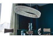 Catalan Itaia / Cellini / aluminium  chandelier by studio Kronos