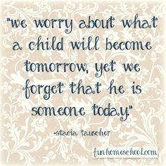 Educational Quote - Great quote about children