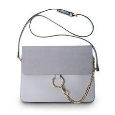 Luxury Brand Donne Messenger Borse Catene Patchwork Spalla Crossbody Bag Signore Anello di Metallo In Pelle Stella Pochette Sac A Main