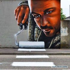Funny pictures about Next Level Street Art. Oh, and cool pics about Next Level Street Art. Also, Next Level Street Art photos. 3d Street Art, Murals Street Art, Urban Street Art, Amazing Street Art, Street Art Graffiti, Street Artists, Urban Art, Amazing Art, Banksy