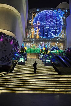 jiu guang shopping centre shanghai by Rocky young, via Flickr