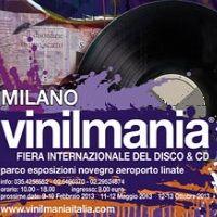 Febbraio 2013 - Vinilmania 79a edizione Fiera internazionale del disco e del cd, collezionismo discografico. Parco esposizione Novegro.