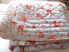 """IKEA """"Rosali"""" bedspread, much like Cath Kidston"""