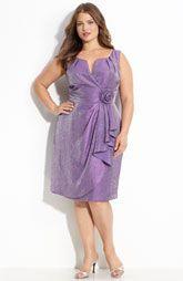 Plus SIze, lovely purple dress