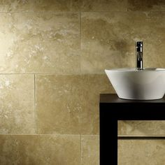 Commercial Honed & Filled Travertine W&F 610x406mm