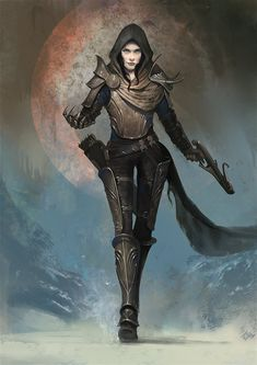 Demon hunter by Asahisuperdry.deviantart.com on @deviantART