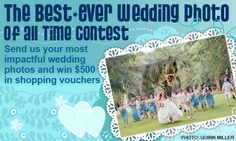 Send us your best-ever wedding photo of all time and win great prizes
