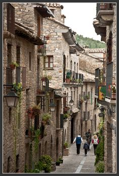 Ainsa, Huesca, Spain