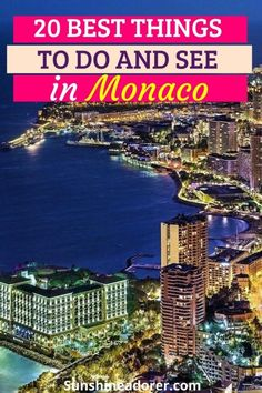 20 Great Things in Monaco You Need to Visit - Sunshine Adorer