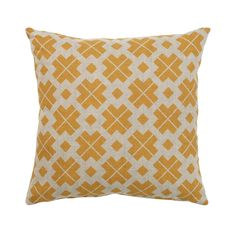 Danish Cushion - Saffron Yellow (V404) with Free Delivery | The Cotswold Company