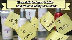 Cosmétiques et Soins Pour la Peau : 12 Produits Toxiques à Eviter.