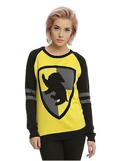 Show 'em your House pride // Harry Potter Hufflepuff Girls Sweater