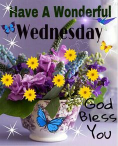 WEDNESDAY BLESSINGS!!