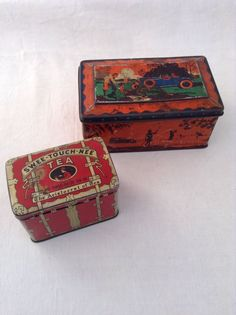 Vintage Tins Swee-touch-nee Tea And Mackintosh`s Toffee Collectable | eBay
