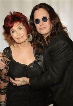 Mr & Mrs...Ozzy and Sharon Osbourne