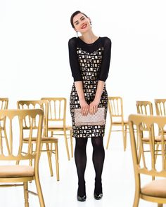 Patroon jurk (Post-patroon)   Dames   Knipmode naaipatronen   Knipmode