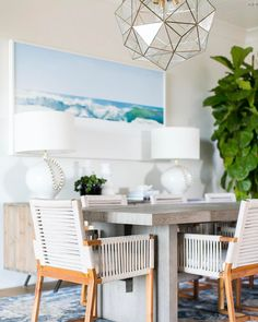 Another shot from today's #estilloproject dining room!  More images + details on Beckiowens.com! Photo: Ryan Garvin
