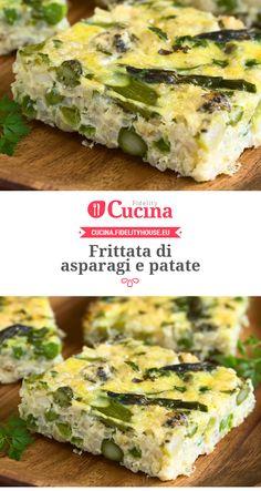 #Frittata di #asparagi e #patate