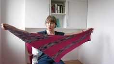 "My knitting pattern ""Matchmaker"" is both a triangular shawlette and a big cowl – all knit in easy, relaxing garter stitch using your favorite colors of Wollmeise. In this video I show the two options to wear your Matchmaker and how to adapt the pattern to your needs and yarn weight.  The pattern is available here: http://www.ravelry.com/patterns/library/matchmaker"