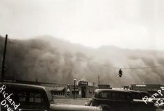 April 14, 1935 Dust Bowl - Pampa, Texas. (My hometown)